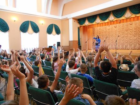 Діти із «Соняшника» на концерті